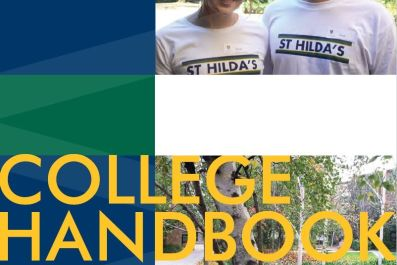 College handbook cover