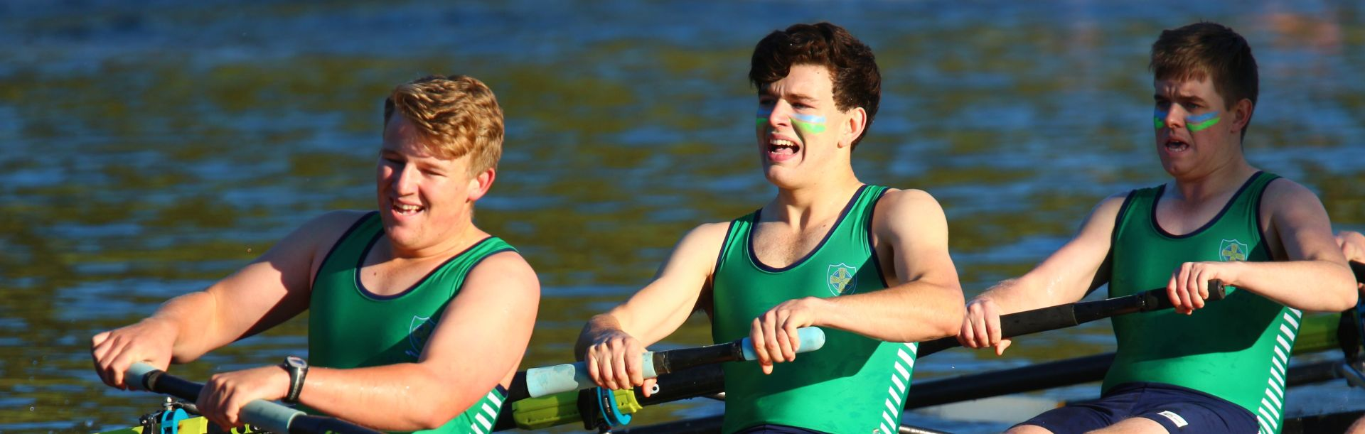 Students rowing quad (men's)