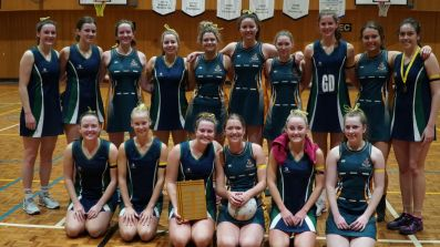 Netball team grand final winners