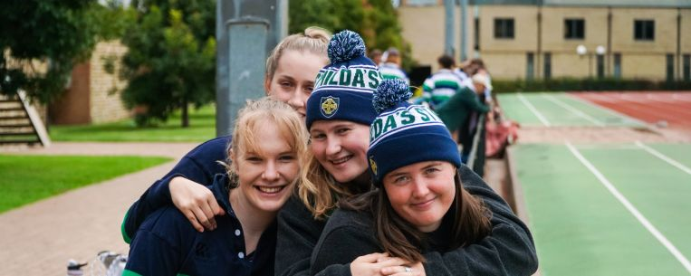 Supporters Aths Carnival St Hilda's Residential College University of Melbourne