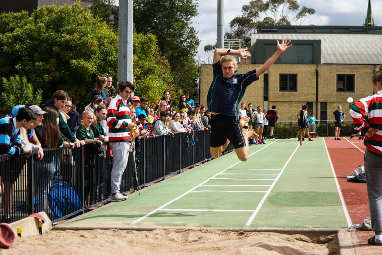 long jump St Hilda's Residential College University of Melbourne
