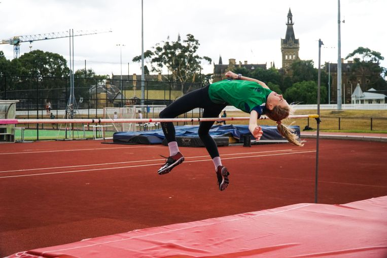 St Hilda's Residential College uni melb best high jump