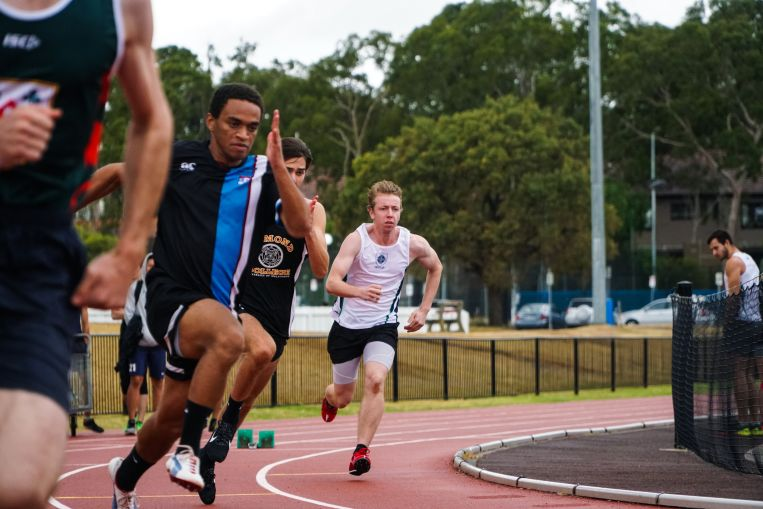 St Hilda's Residential College Uni Melb mens 100m