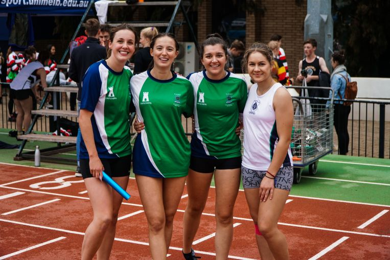 St Hilda's Residential College University of Melbourne women's relay