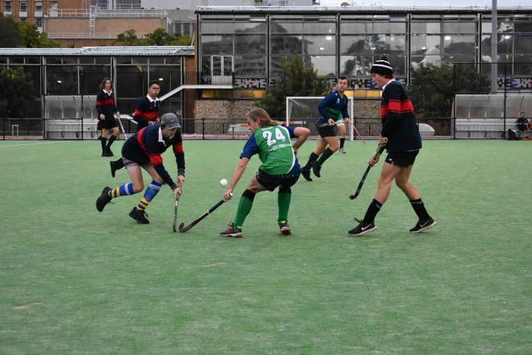 mens hockey St Hilda's College uni melb