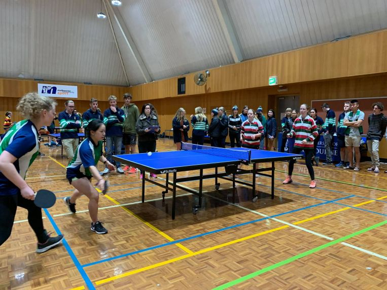 St Hilda's Residential College University of Melbourne table tennis