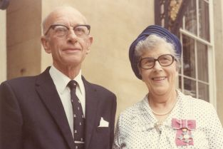 Alice and George Paton