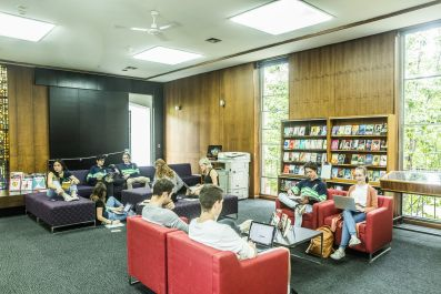 St Hilda's Residential College Uni Melb Alice Paton Library