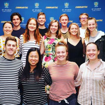 Leadership Development St Hilda's Residential College University of Melbourne current students