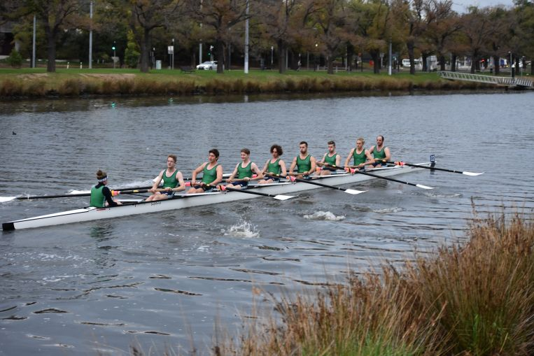 Men's Crew rowing regatta St Hilda's College Uni Melb Residential College Melbourne