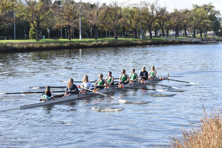 Women's Crew St Hilda's College University of Melbourne