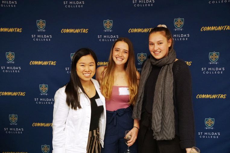 Connections Mentor Program event St Hilda's College University of Melbourne Residential Collge Career Support